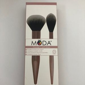 MODA Powder + Soft Glow 2pc Brush Kit